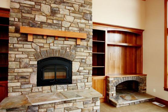 Richards House Plan – Custom Stone Work