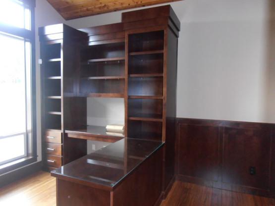 Dark and Bookcase