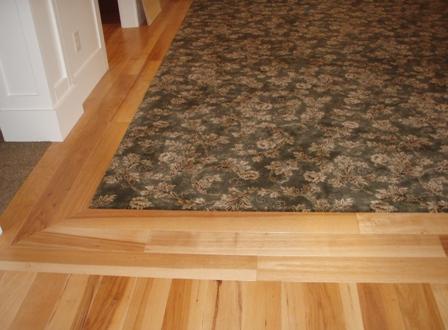 Decorative Wood Trim Flooring