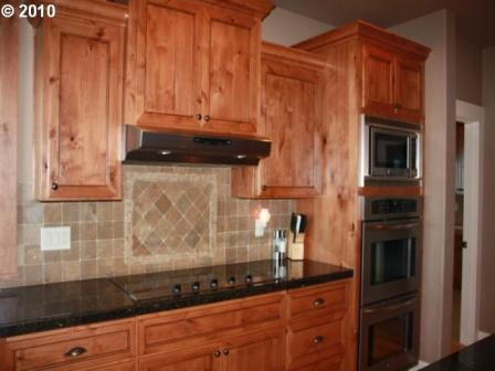 Custom Woodwork on Kitchen Cabinets