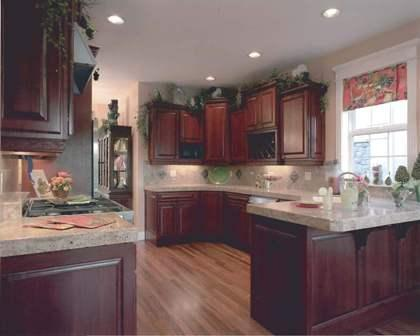 Kitchen Cabinets & Wood Flooring
