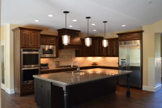Custom Lighting in Kitchen