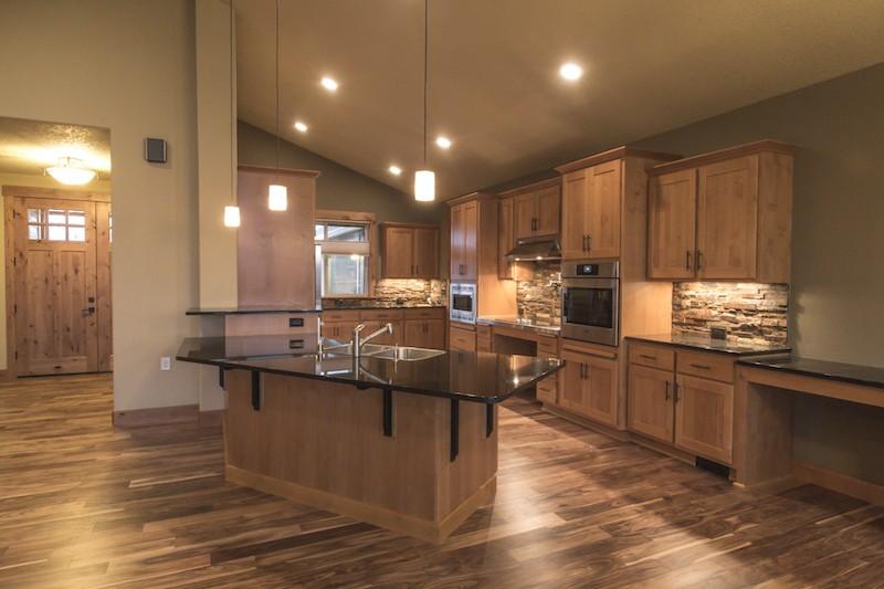 Custom Kitchen Open Layout