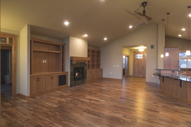 Great room ranch house for Ranch floor plans with great room