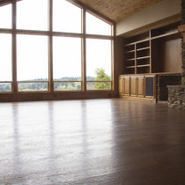 Open Floor Layout with Custom Woodwork