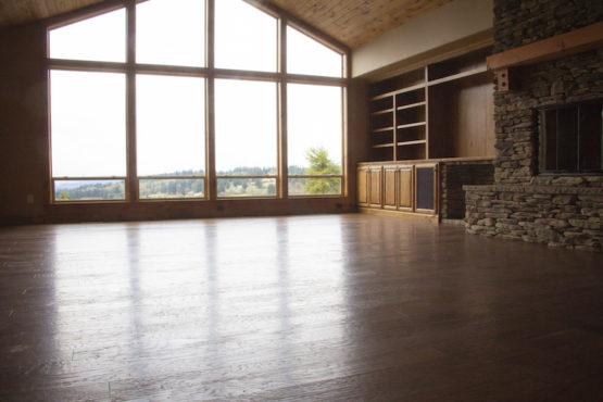 Open Floor Layout with Custom Woodwork