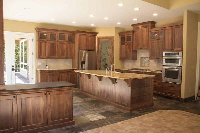 Custom Kitchen Skamania County Custom Home