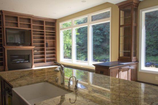 Custom Cabinets in Skamania County Custom Home