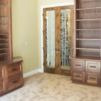 Custom Wood Work in Office