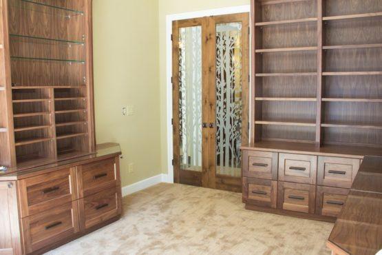 Custom Office Cabinets, Custom Doors in Vancouver WA