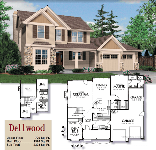 Dellwood Custom Home in Vancouver WA