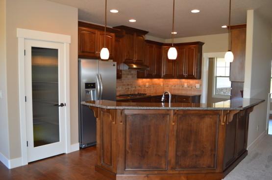 La Center WA, Clark County, WA Custom Home Kitchen