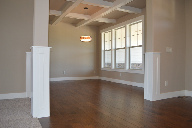 La Center WA Custom Home, Custom Woodworking