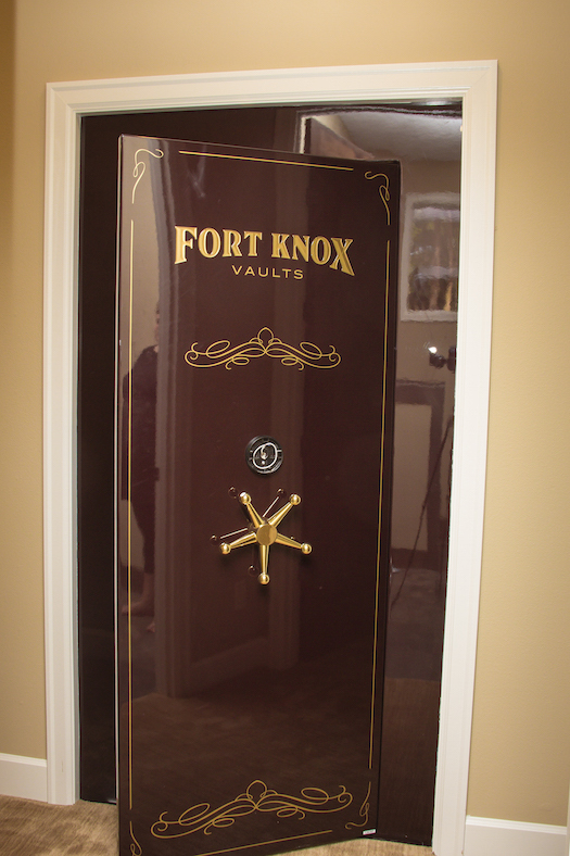 Safe room in washougal wa custom home for Custom home safes