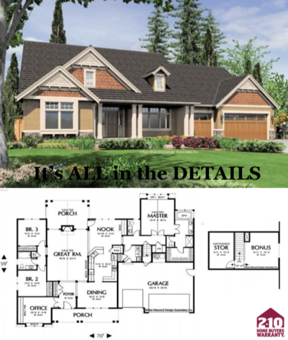 Willard 2400 Square Foot Custom Home in Vancouver WA