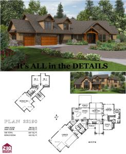 Silverton 3100 Square Foot Custom Home House Plan