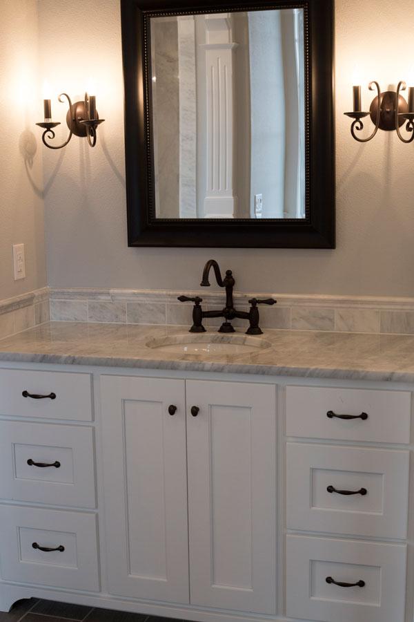 Bathroom Countertop Custom Home Kalama WA