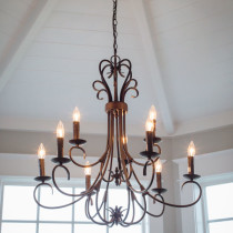 Chandelier Custom Home Kalama WA
