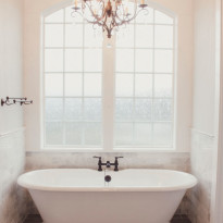 Bathtub Master Bathroom Custom Home Kalama WA