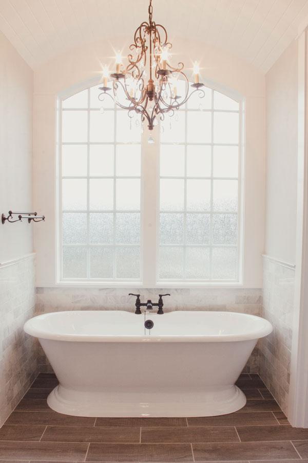 Bathtub Master Bathroom Custom Home Kalama WA