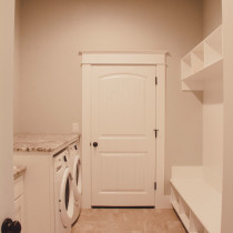 Laundry Room Custom Home Kalama WA