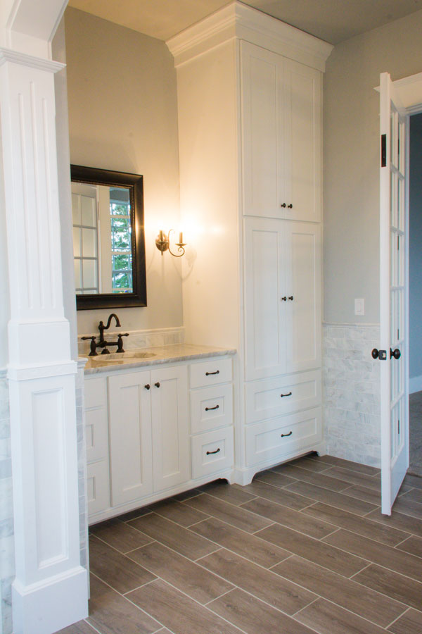 Master Bathroom Custom Home Kalama WA