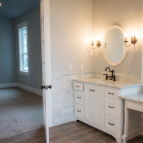 Powder Room Custom Home Kalama WA