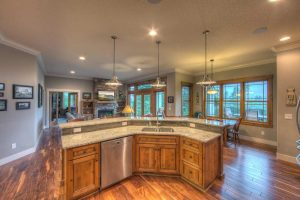Leland Custom Home Kitchen